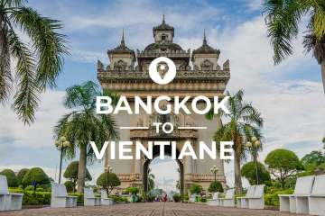 Bangkok to Vientiane coverimage