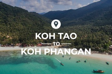 Koh Tao to Koh Phangan cover image