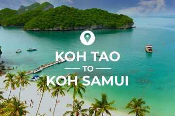 Koh Tao to Koh Samui cover image