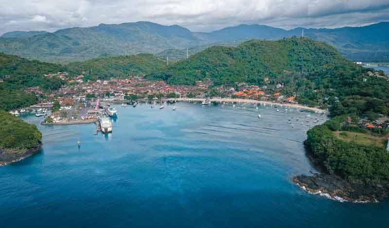 Padang Bai harbour