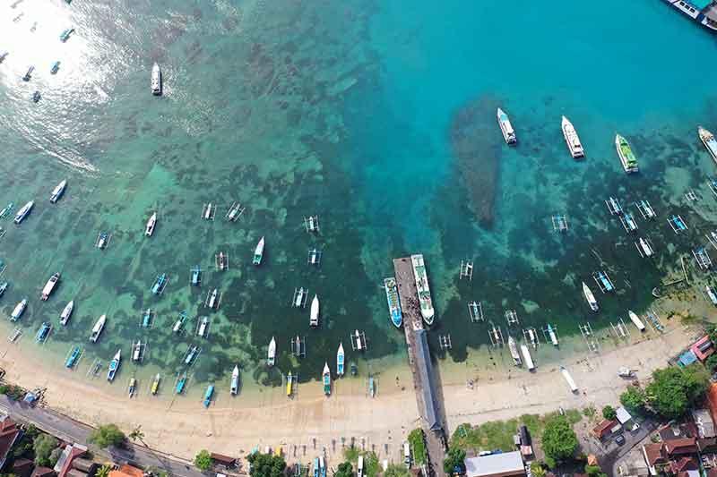 Padang Bai port