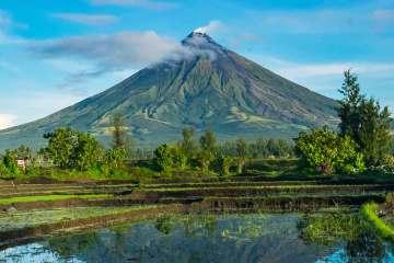 Legazpi Mayon vulcano