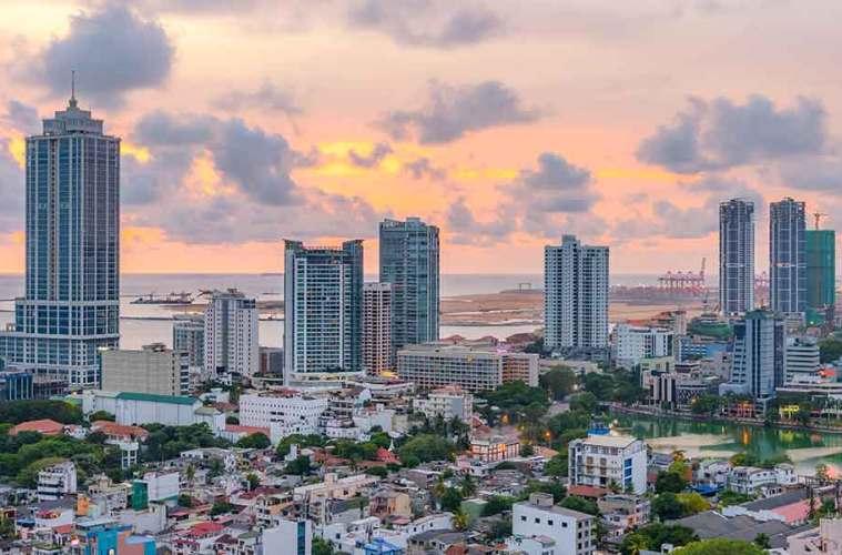 Colombo city Sri Lanka