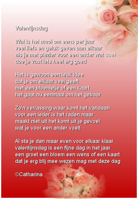 Een Lief Valentijns Gedicht Van Een Lieve Vriendin