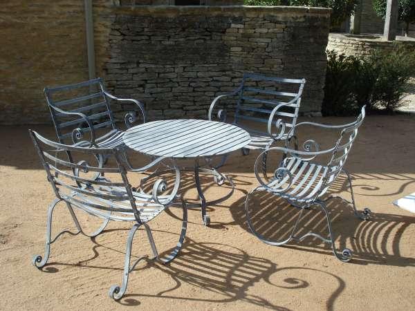 metal patio furniture Metal Garden Furniture