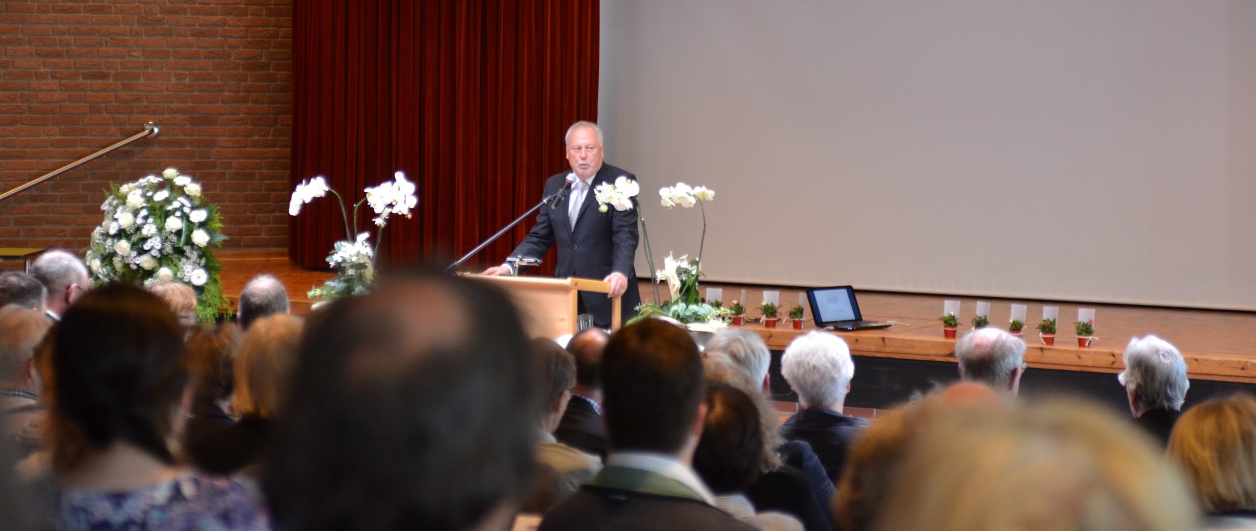 Begrüßung von Stephan Böhme