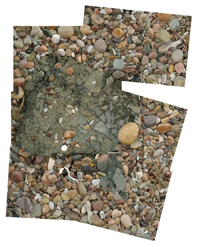 Disintegrating Stone, Mainland Beach NL (55.25cm x 78.44cm)