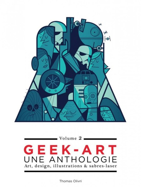 Geek-Art Volume 2 (Huginn & Muninn, 2015) Alternate Cover by Ale Giorgini.