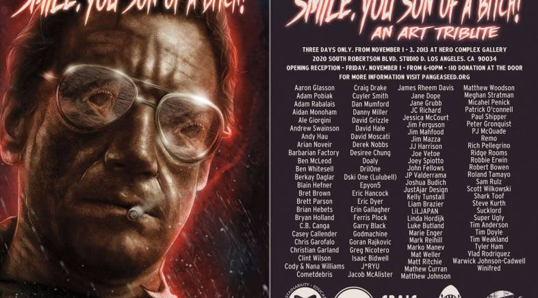 Smile, You Son of a Bitch – An Art Show Tribute to Jaws at Hero Complex Gallery