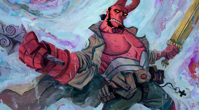Hero Complex Gallery – Hellboy 20th Anniversary Art Show