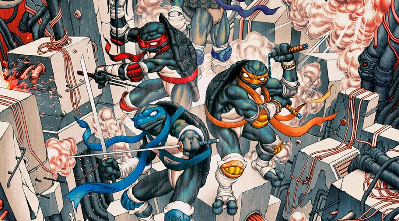 James Jean – TMNT Print and Statues