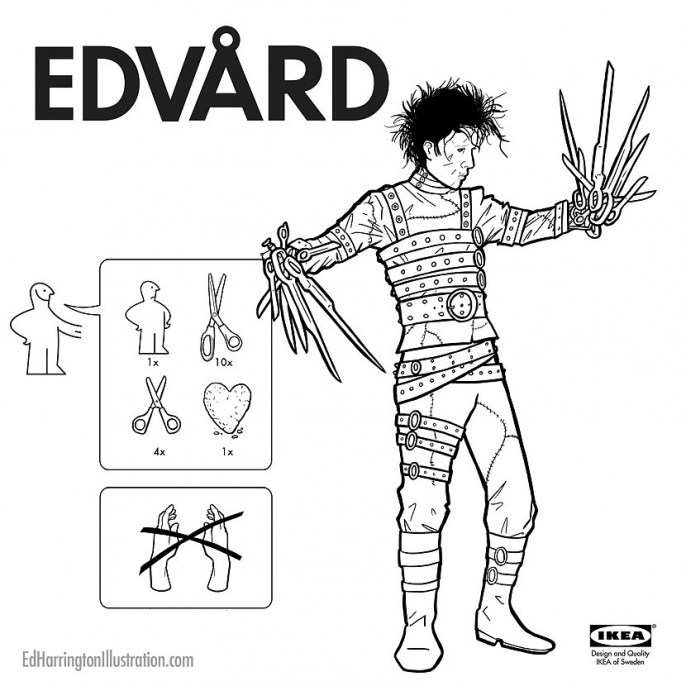 Ed Harrington - Pop Culture Ikea Edward