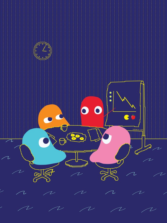 Loss Prevention Against Pac-Man by Soeun Lee - Pac-Man