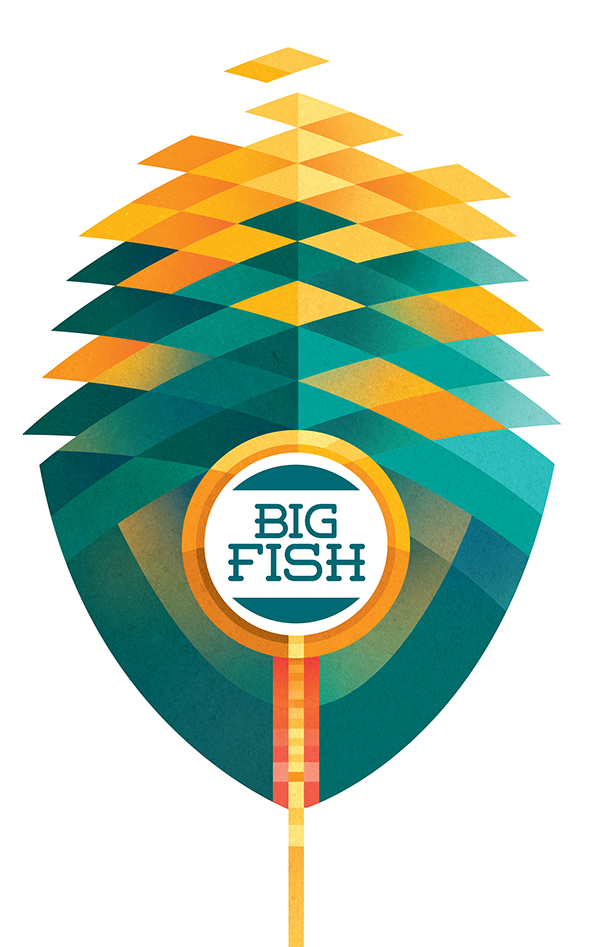 Sean Loose - Lucas Theatre Event Posters Big Fish