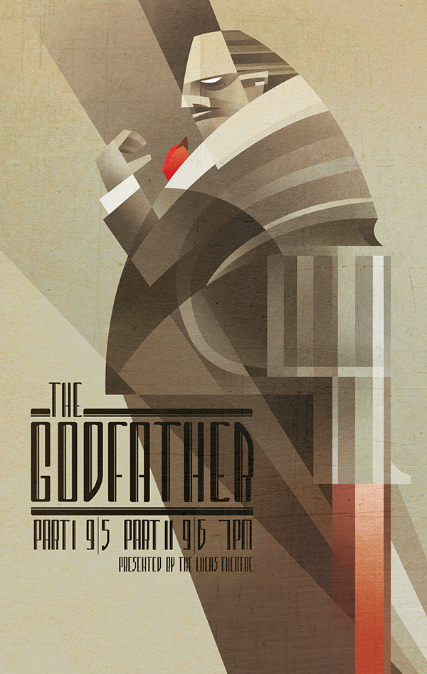 Sean Loose - Lucas Theatre Event Posters The Godfather