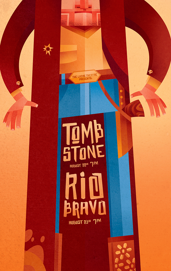Sean Loose - Lucas Theatre Event Posters Tombstone