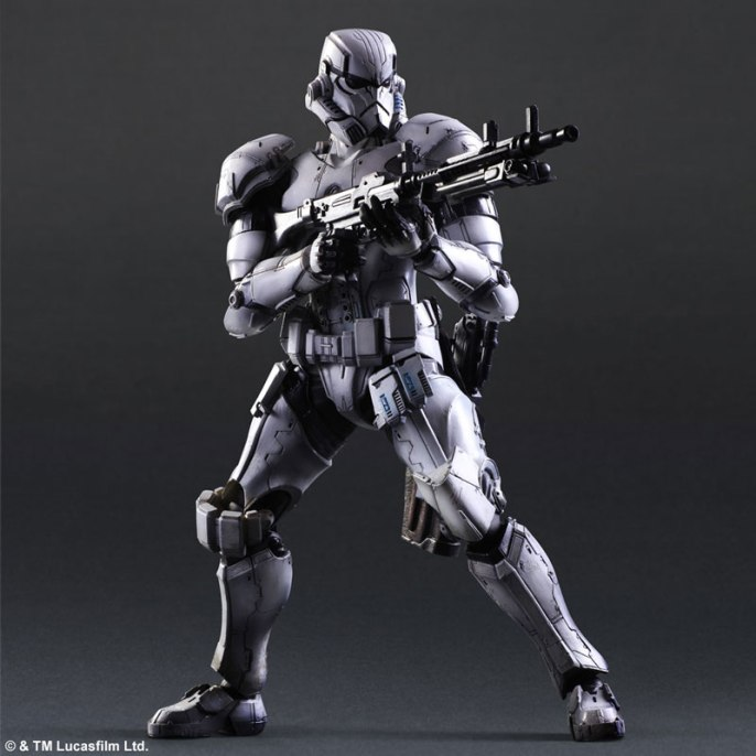 Square Enix Star Wars Play Arts Variant Figures - Stormtrooper-005