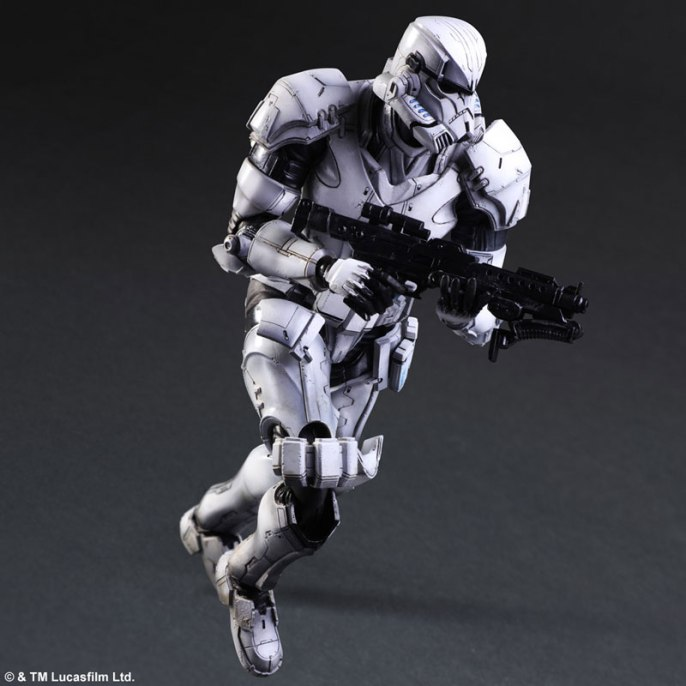 Square Enix Star Wars Play Arts Variant Figures - Stormtrooper-006