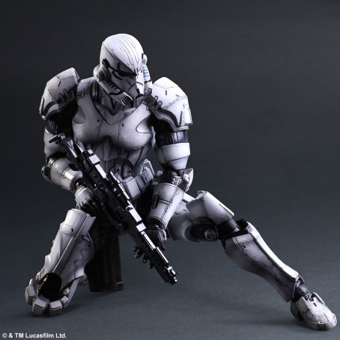 Square Enix Star Wars Play Arts Variant Figures - Stormtrooper-007