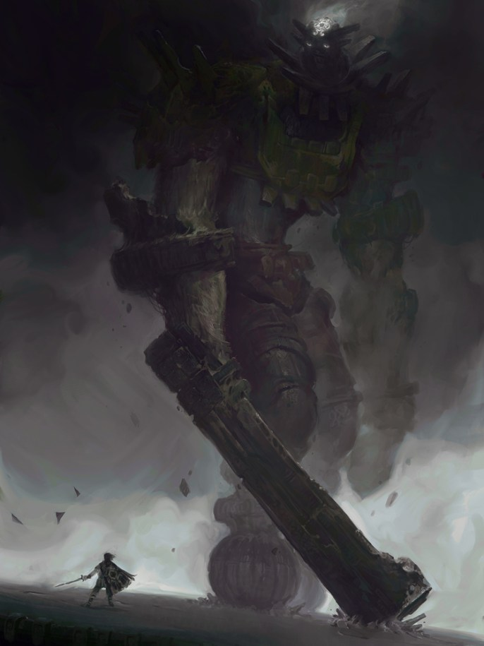 The 3rd Colossus by Victory Maury - Shadow of the Colossus