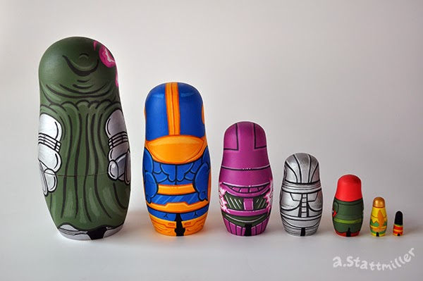 Andy Stattmiller - Nesting Dolls Marvel Villains2