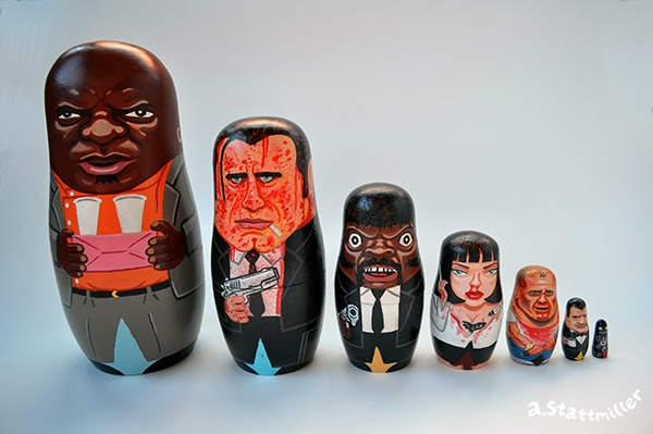 Andy Stattmiller - Nesting Dolls Pulp Fiction