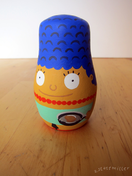Andy Stattmiller - Nesting Dolls Simpsons4
