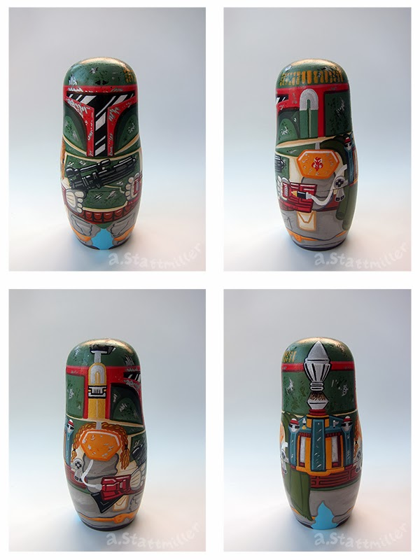 Andy Stattmiller - Nesting Dolls Star Wars2