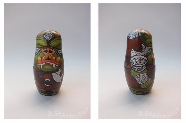 Andy Stattmiller - Nesting Dolls Star Wars3