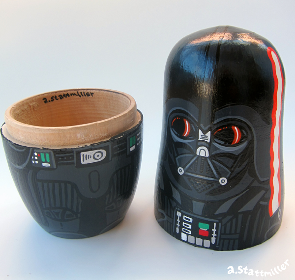 Andy Stattmiller - Nesting Dolls Star Wars6