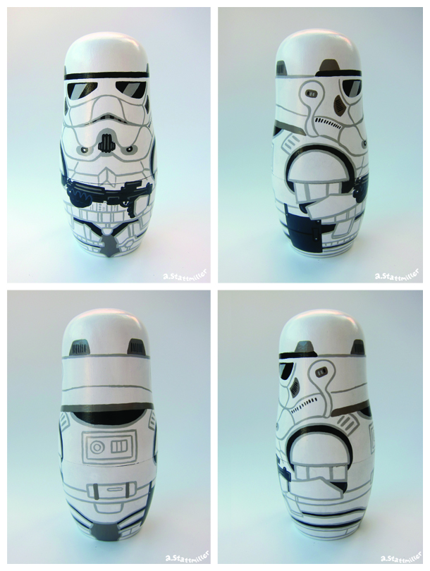 Andy Stattmiller - Nesting Dolls Star Wars9