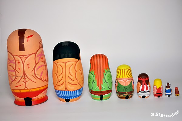 Andy Stattmiller - Nesting Dolls Street Fighters3