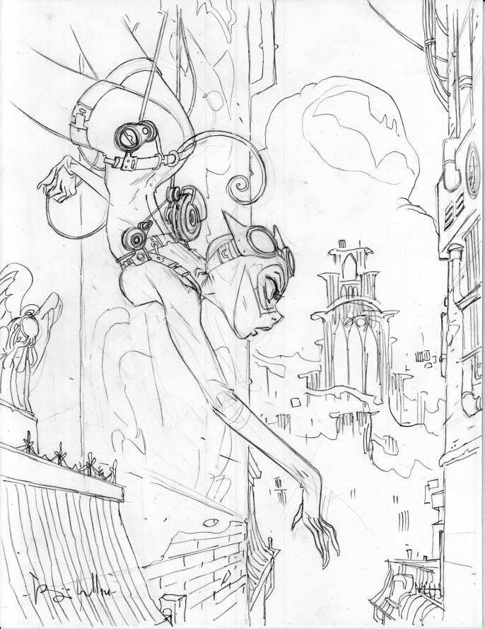 Ben Caldwell and Johannes Helgeson - Catwoman Pencils
