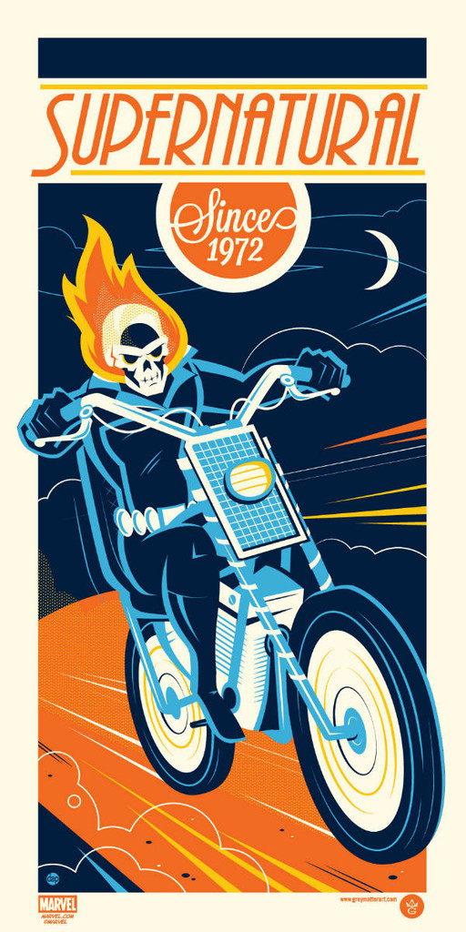 Dave Perillo - Ghost Rider for Grey Matter Art