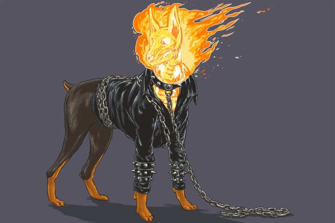 Josh Lynch -  Dog Ghost Rider