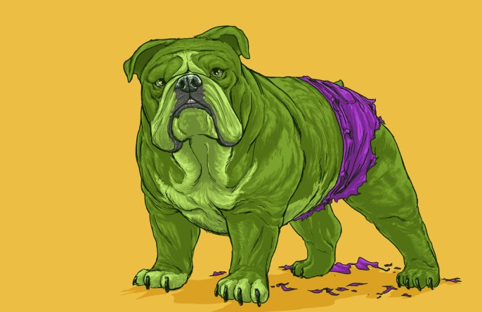 Josh Lynch -  Dog Hulk