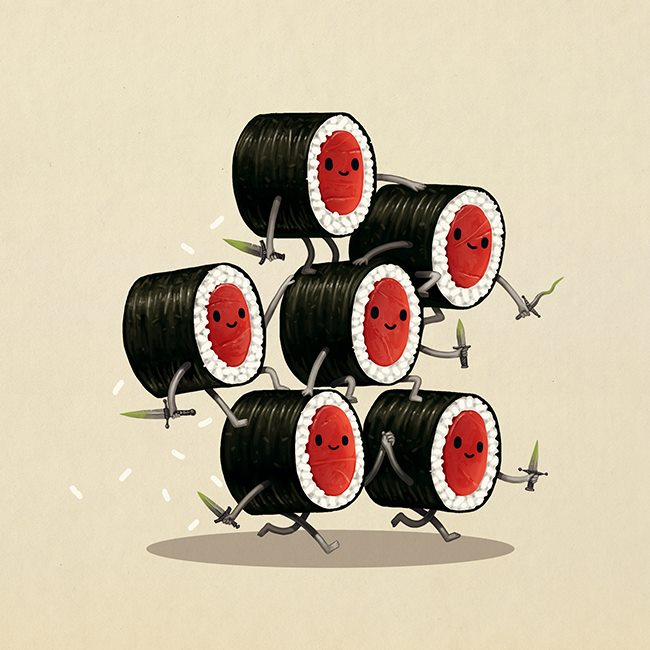 Mike Mitchell - Exclusive San Diego Comic Con Prints - Poison Daggers