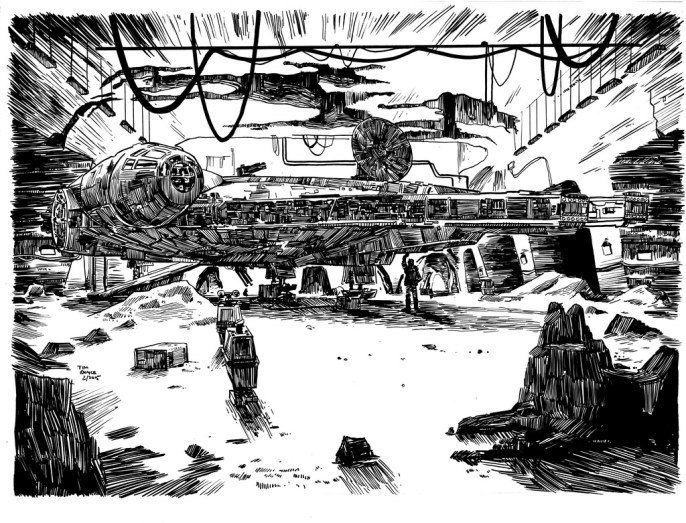 Tim Doyle - What a Piece of Junk lineart