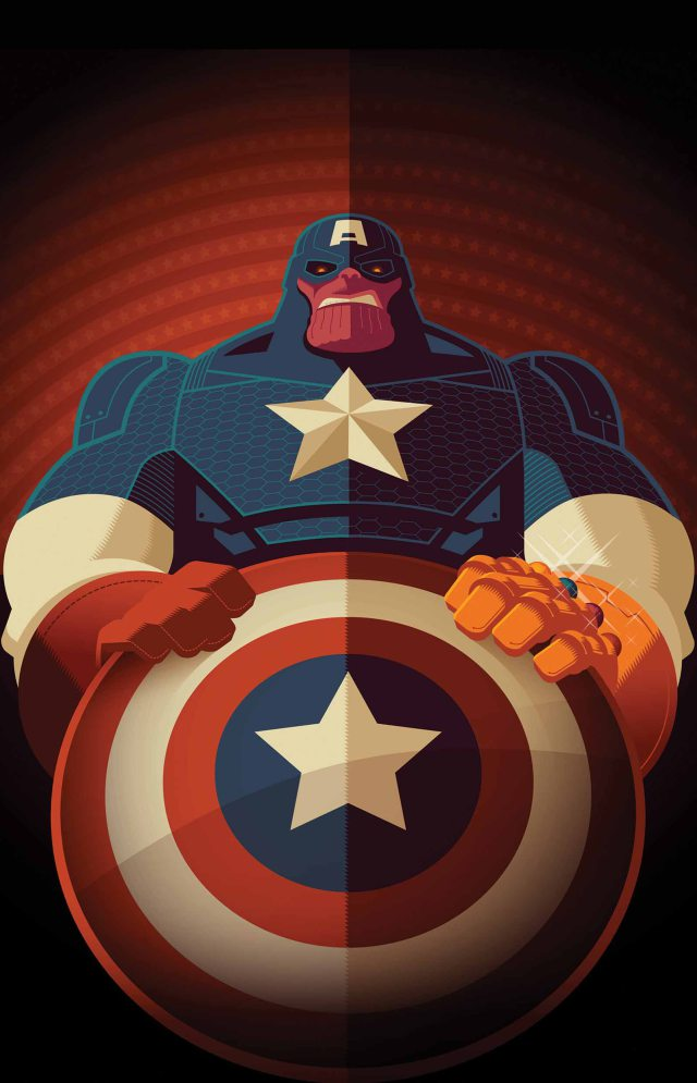 Tom Whalen - What If ? Infinity Alternate Cover