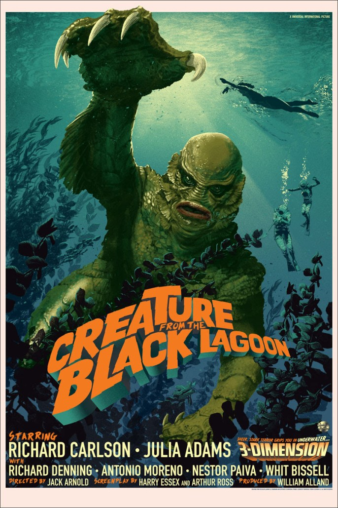 Stan and Vince - Creature of the Black Lagoon Regular