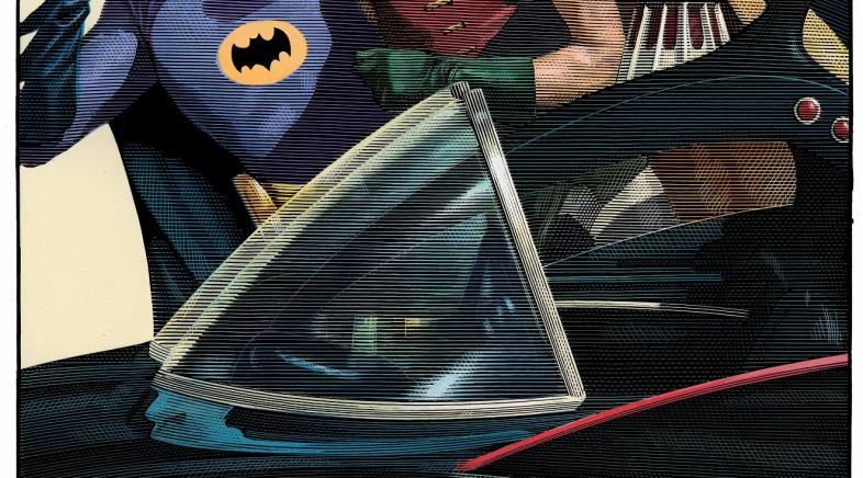 Mark Summers – Batman 66 Print for Geek-Art and French Paper Art Club