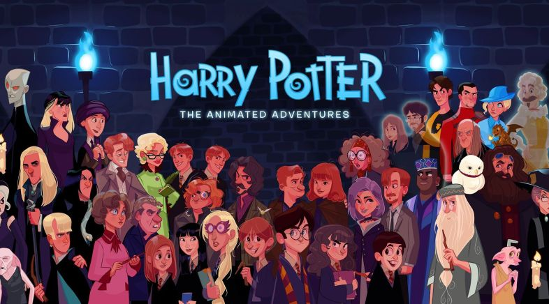 Stephen Byrne ‏- Harry Potter: The Animated Adventures