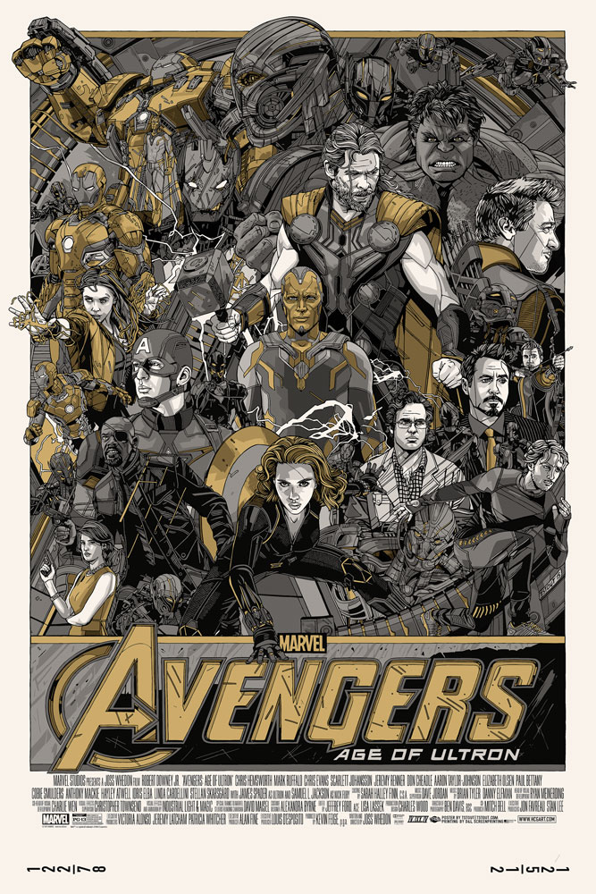 Tyler Stout - Avengers- Age of Ultron Variant Edition