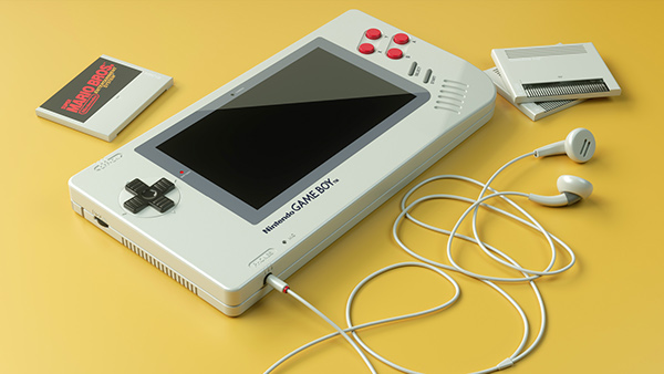 Florian Renner - Game Boy One Up Project 3