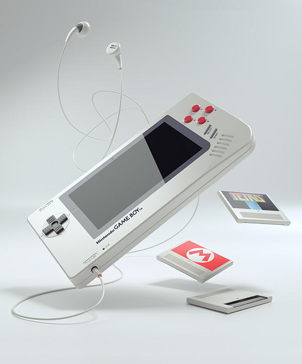 Florian Renner - Game Boy One Up Project