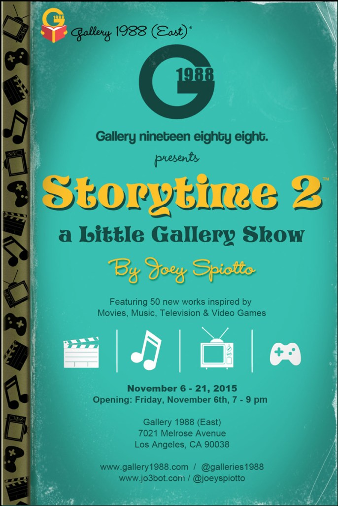 Joey Spiotto - Storytime 2 - Gallery 1988