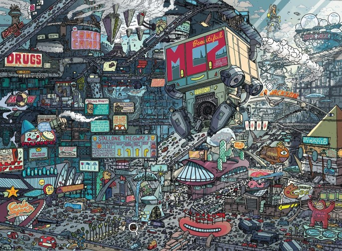 Ulises Farinas - Mega City One