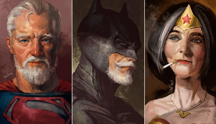 Eddie Liu – Old Super Heroes