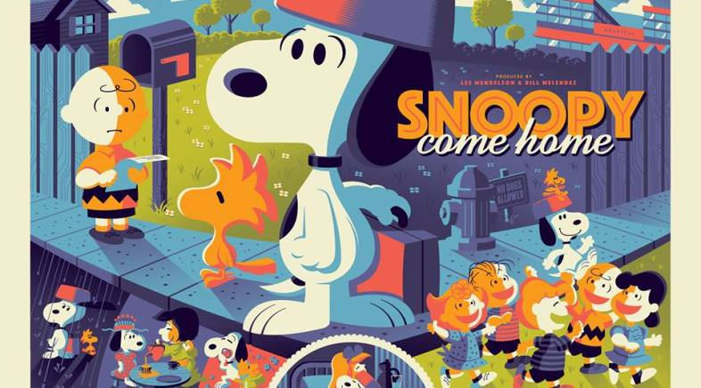 Tom Whalen – Snoopy Come Home for Dark Hall Mansion