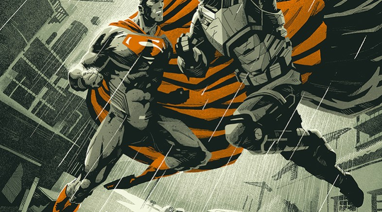 Paris Comics Expo 2016 – Batman V Superman par Coke Navarro pour French Paper Art Club et Geek-Art